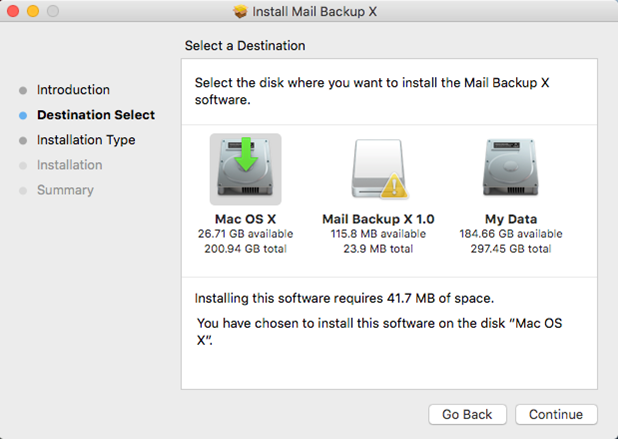 restore mac email from time machine backup