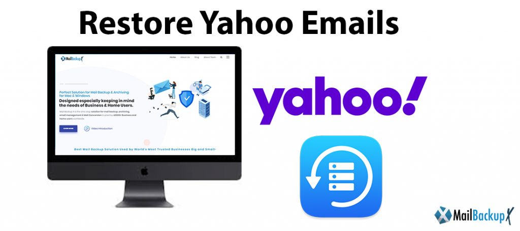 restore yahoo emails