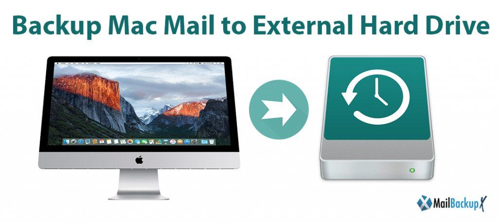 backup mac email to hard drive