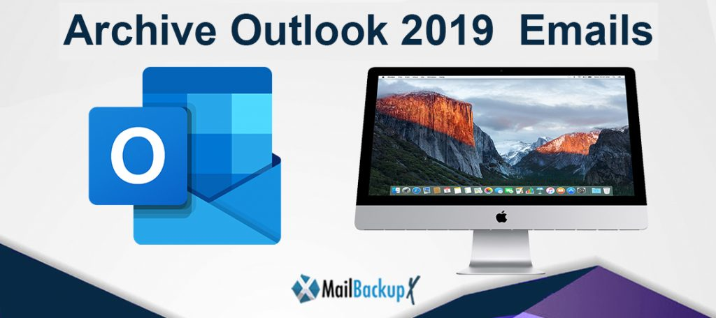 archive outlook 2019 folders