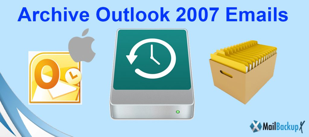 archive outlook 2007 mac