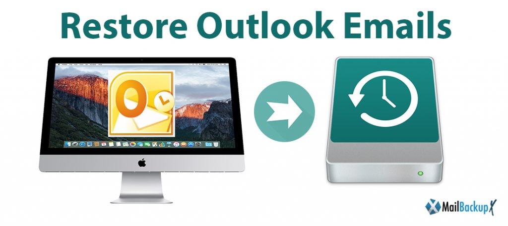 how to restore outlook emails windows