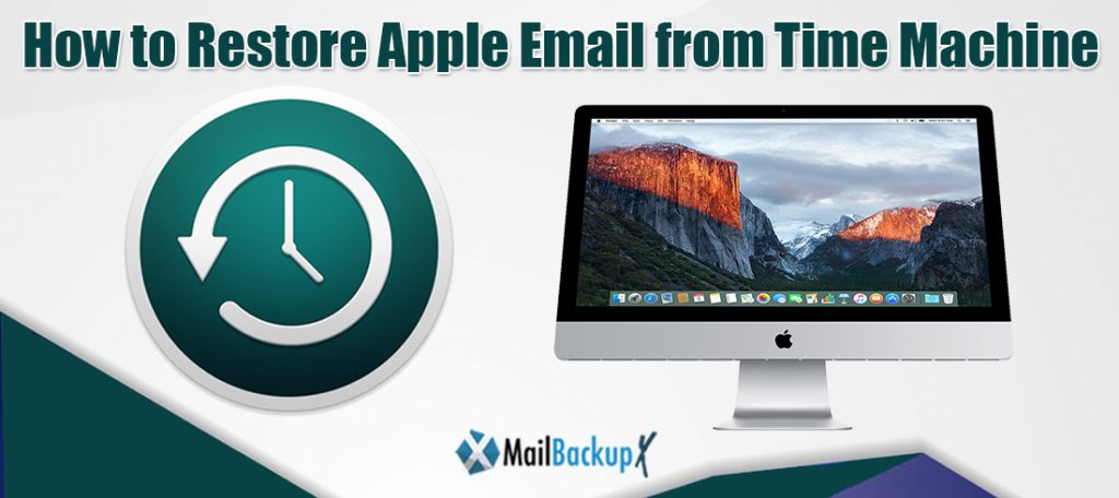 how to restore apple email from time machine