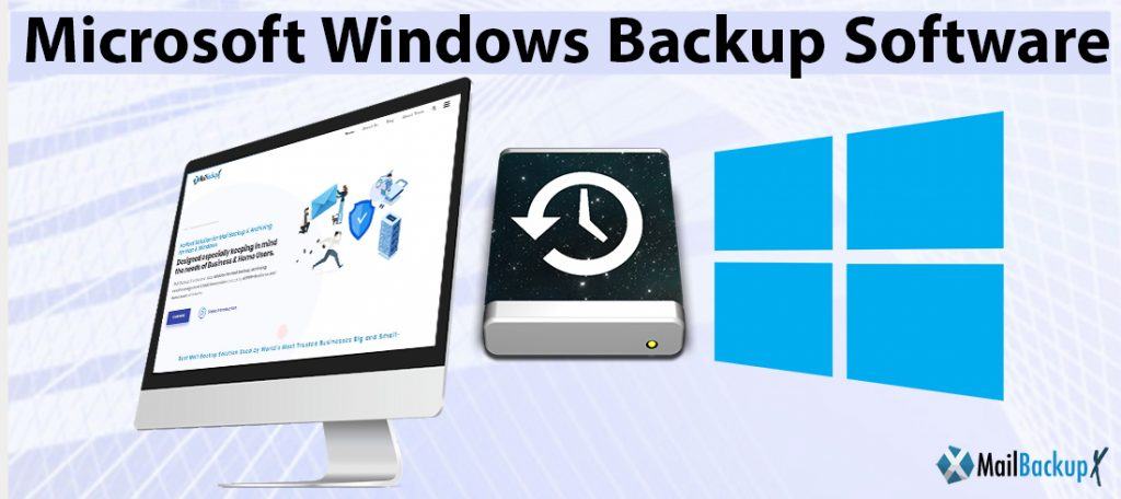 microsoft windows backup and restore