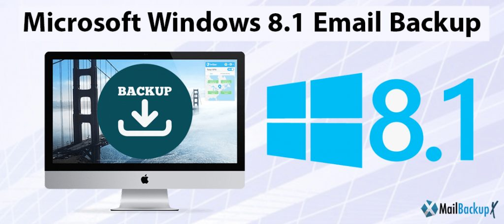 microsoft windows 8.1 email backup