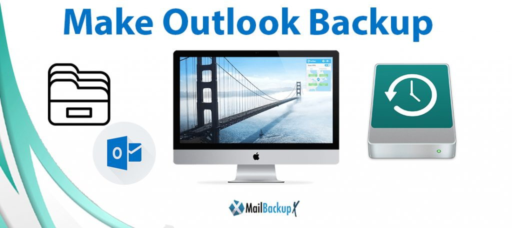 make outlook backup folder