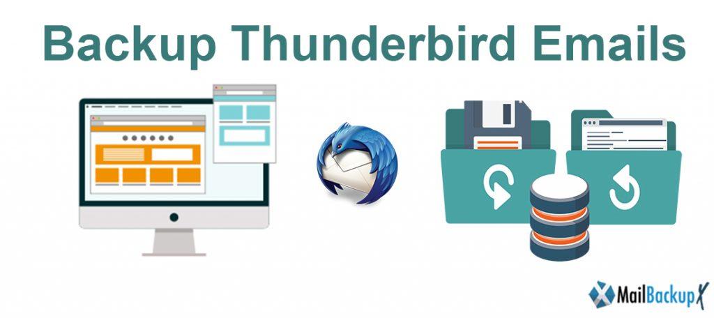email backup Thunderbird