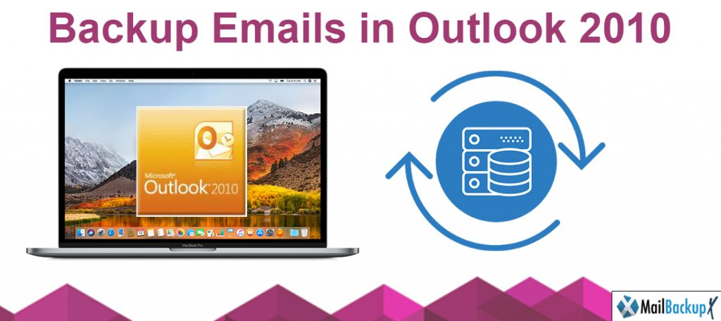 backup email in outlook 2010