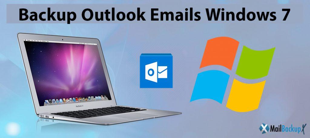 backup outlook windows 7