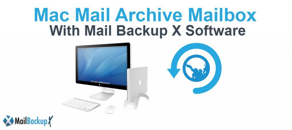 archive mac OS X mailbox
