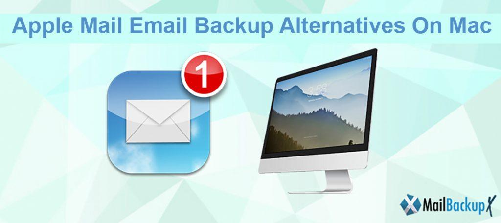 Apple Mac email backup options