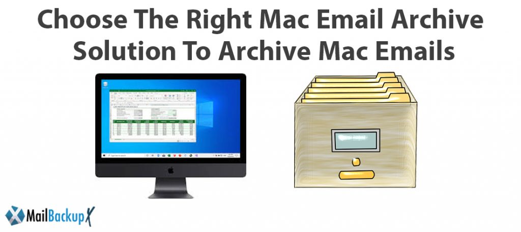 mac email archive software