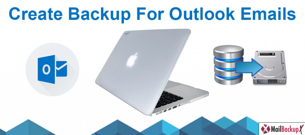 create outlook backup