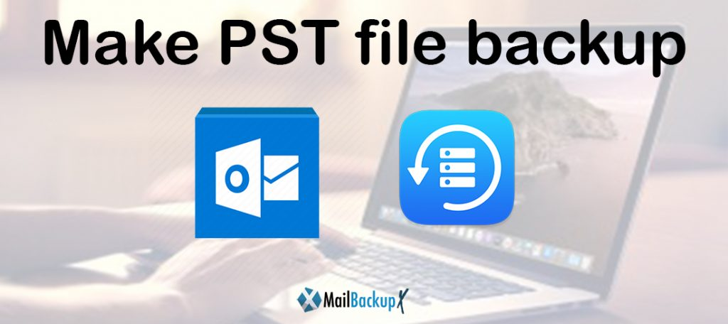 how to make pst file backup in outlook 2010