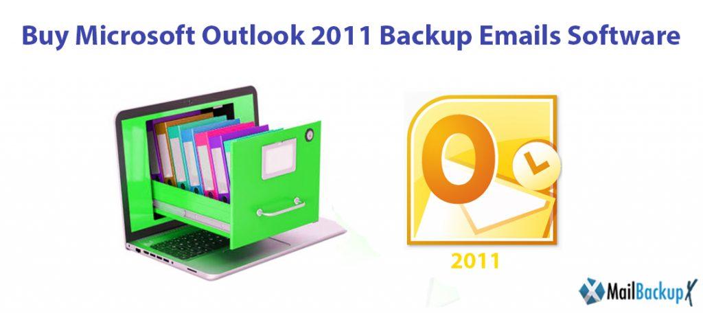 Microsoft outlook backup 2011