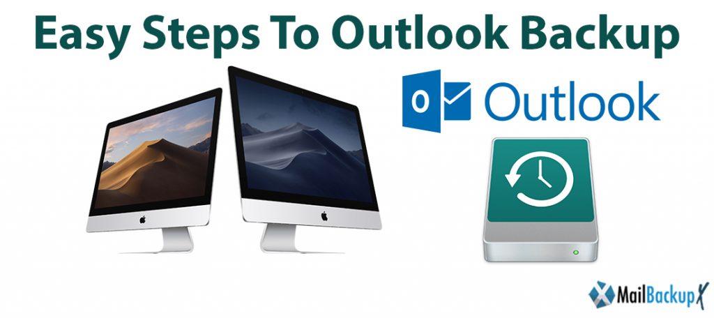 outlook backup steps