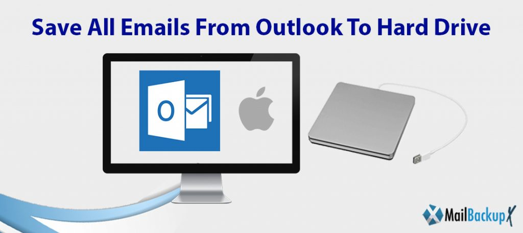 save all emails from outlook