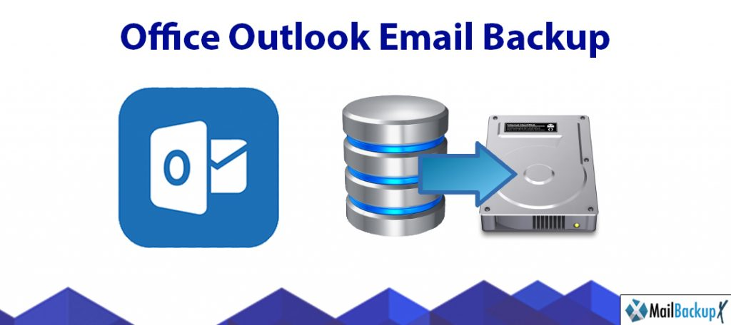 office outlook email backup