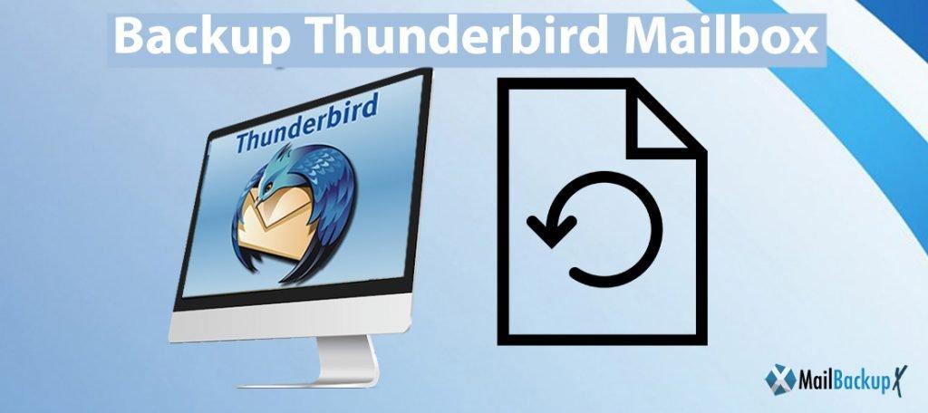 backup thunderbird mailbox