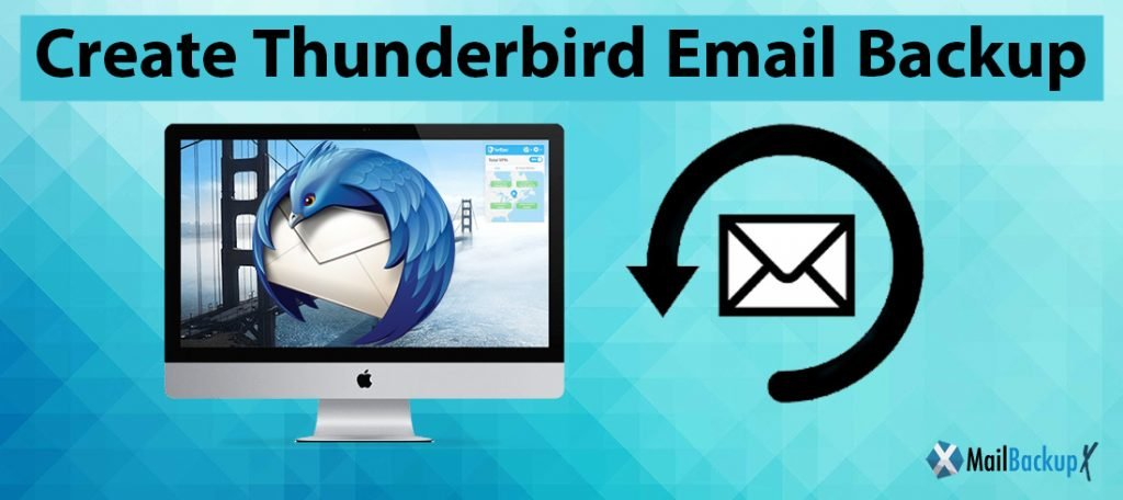 create Thunderbird backup