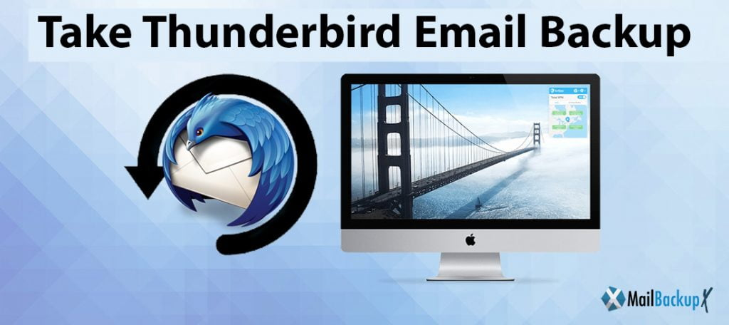 how to take Thunderbird backup