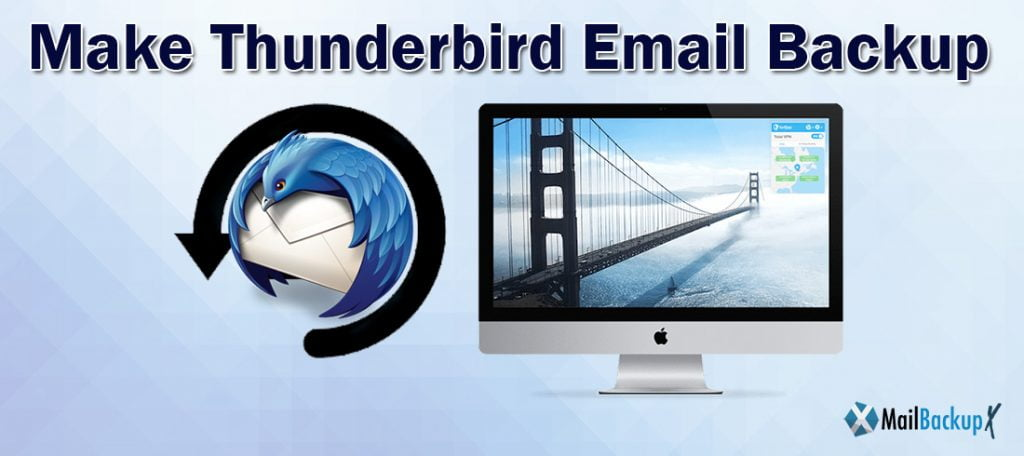 make thunderbird email backup