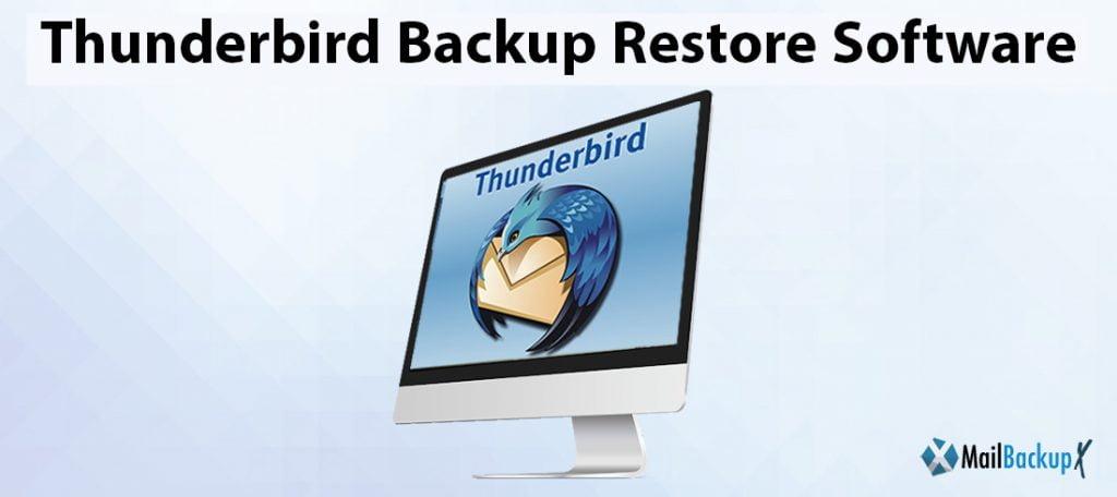 thunderbird restore emails
